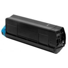 Картридж 42127491 / 42127408 (Заправка картриджа + чип) для принтеров OKI C5100n/ C5200/ C5300/ C5400, черный (5000 стр.)