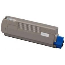 Картридж 44315324 / 44315308 (Заправка картриджа + чип) для принтеров OKI C610, черный (8000 стр.)