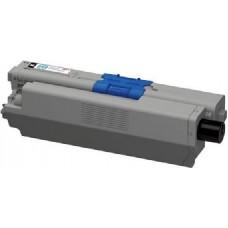 Картридж 44973544 / 44973536 (Заправка картриджа + чип) для принтеров OKI C301dn/ C321/ C332/ MC342, черный (2200 стр.)