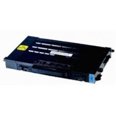 Картридж CLP-500D5C (Заправка картриджа) для принтеров Samsung CLP-500/ 550, голубой (5000 стр.) (с чипом)