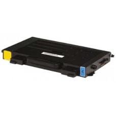Картридж CLP-510D5C (Заправка картриджа) для принтеров Samsung CLP-510/ 515, голубой (5000 стр.) (с чипом)