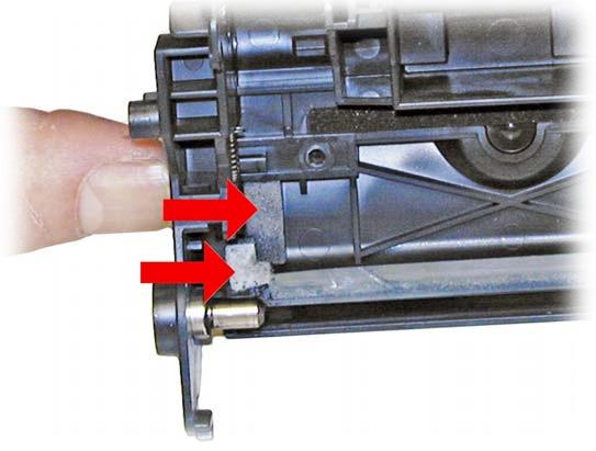 Заправка лазерного картриджа HP CE285A для принтеров HP LaserJet своими руками